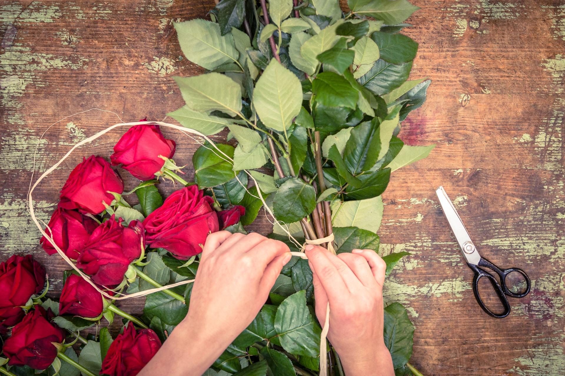 Blumen Hochzeitststäuße Dekoration Trauerfloristik Salzburg